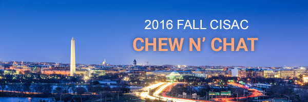 2016 Fall CISAC Chew n' Chat